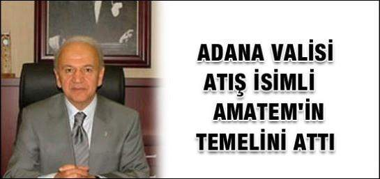 AMATEM'İN TEMELİ ATILDI